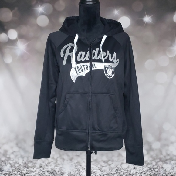 the latest a3979 efe29 Women's NFL Raiders Zip Up Hoody